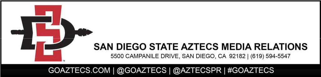 San Diego State Football Press Conference October 31, 2017 SDSU head coach Rocky Long On the upcoming week: We ve got another road game that we look forward to having the opportunity to try to win