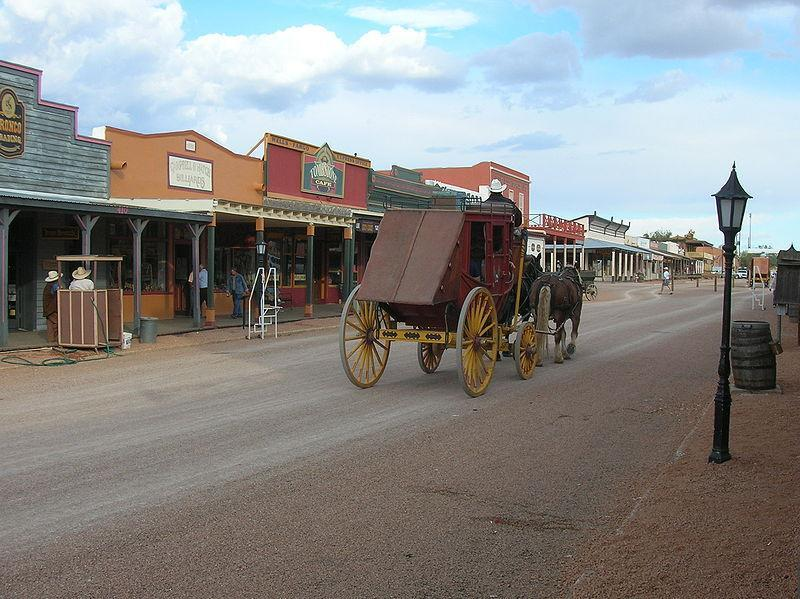 Tombstone, Arizona The Town Too Tough To Die This is America Allen Street in Tombstone shows its wild west roots From VOA Learning English, welcome to This is