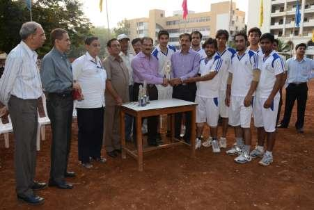 Bharati Vidyapeeth University Inter Collegiate Volleyball The tournament was held on 25th of October 2012 at IMED Volleyball Ground.