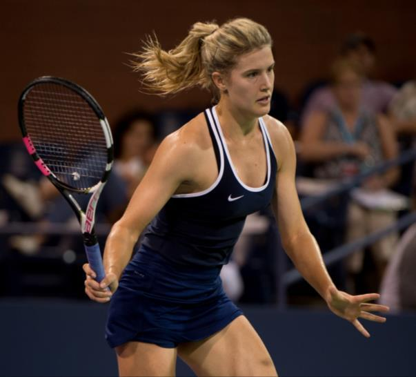 Our Team Eugenie Bouchard A highly ranked WTA star, Bouchard is the first Canadian player to reach a Wimbledon final.