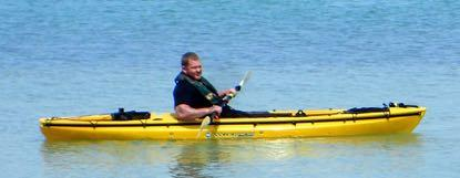 Tom Gadacz: Project Healing Waters at Fort DeSoto Park Michael kayaking at PHWFF outing at Fort DeSoto Park Veterans from Bay Pines VA Medical Center and members of Suncoast Fly Fishers (SFF), an