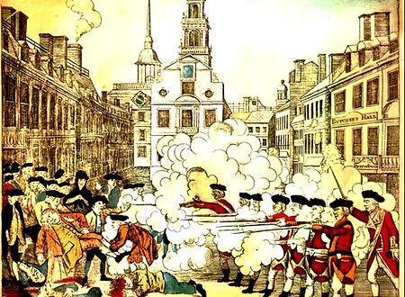 "Exhibit F: Paul Revere s Engraving ""Paul Revere's Engraving - Boston Massacre C.S.I."" Paul Revere's Engraving - Boston Massacre C."