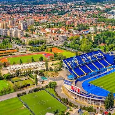 It is the training and preparation ground of the National team, daily used by Dinamo Zagreb.