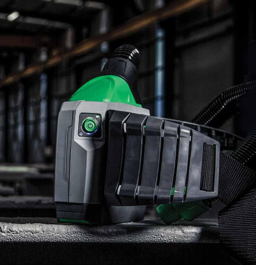 PX4 AIR PAPR 26 THE PX4 AIR PURIFYING RESPIRATOR The RPB PX4 Air is a robust and versatile Powered Air Purifying Respirator (PAPR) and is an option for operators in the blasting area that need