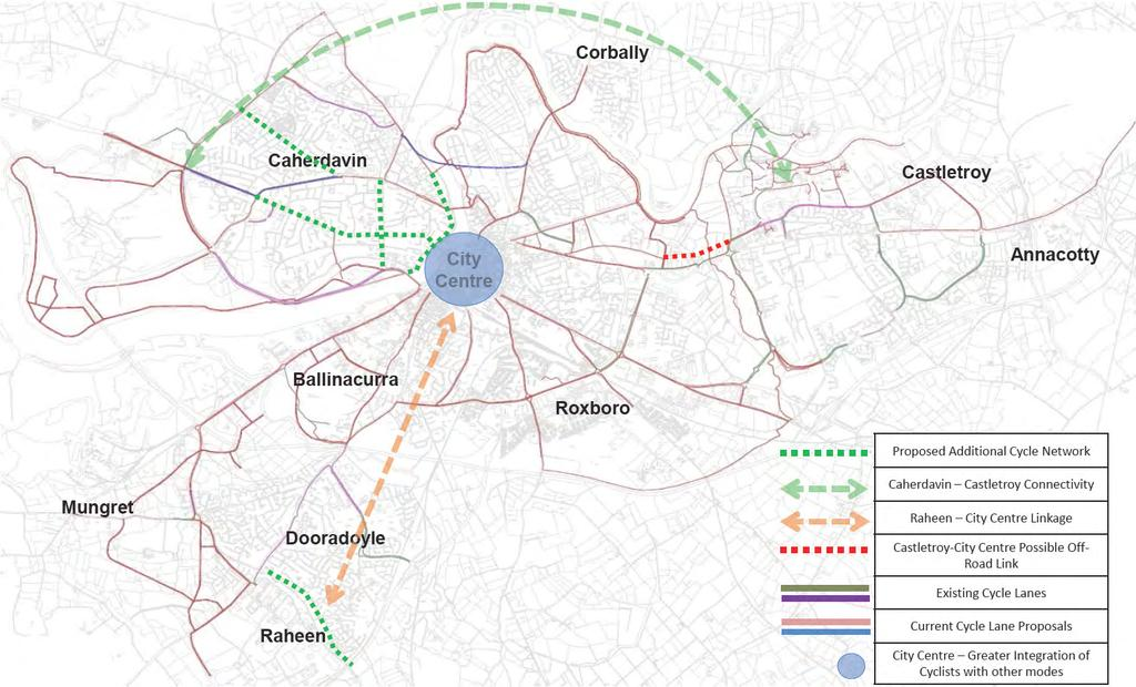 Limerick Metropolitan Cycle Network Study - Section 1