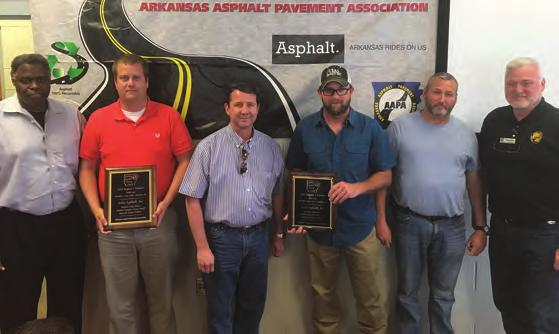 2018 AAPA REGIONAL PAVING AWARDS REGION ONE Winners Region 1 Multi-Lane (Atlas Asphalt) In