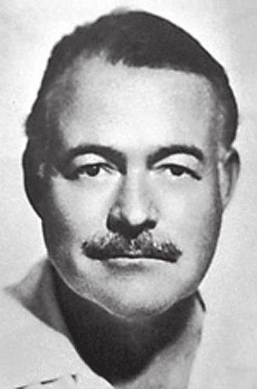 SEPTEMBER 2011 1930s Ernest Miller Hemingway (1899 1961) was an American author and journalist.