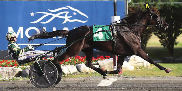 HANNELORE HANOVER Trained by Grand Circuit Trainer of the Year RONNIE BURKE Congratulations to all of tonight s winners with
