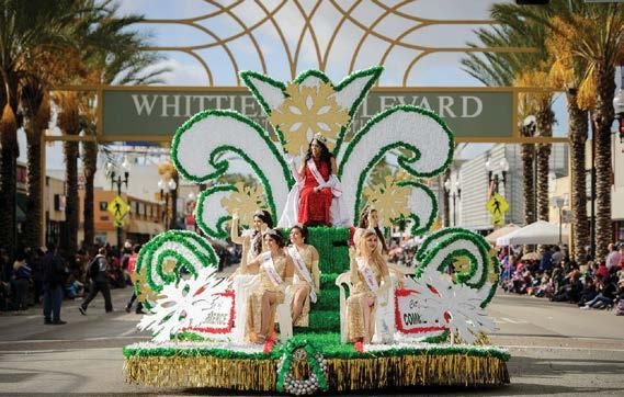 GOLD SPONSOR: $15,000 Company recognition in all event advertising, public relations efforts, and media events, including parade launch press conference distributed throughout Southern California (e.