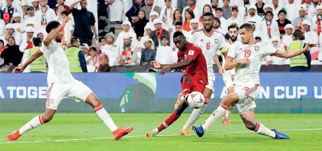 Another goal in Friday s final against Japan will take the feared striker ahead of Iranian legend Ali Daei, who scored eight goals in the 1996 edition of the tournament.