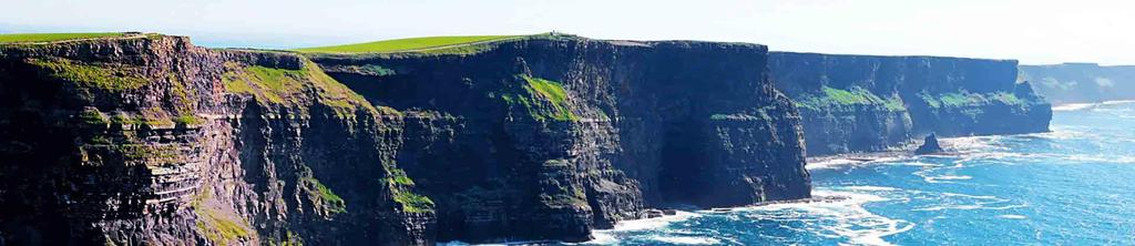 The Shamrock Challenge is a 8-day tour throughout two scenic stops in Ireland.