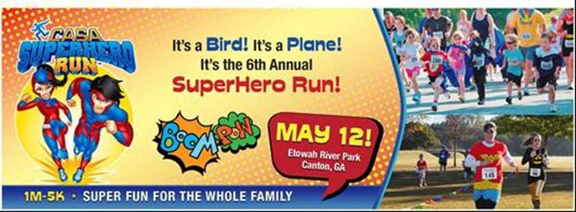 Knights Newsletter We are gearing up for the SuperHero Run on May 12 th. Your organization can win up to $1,000!
