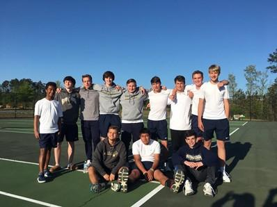 Aces! I m so proud of our boys and girls tennis programs.