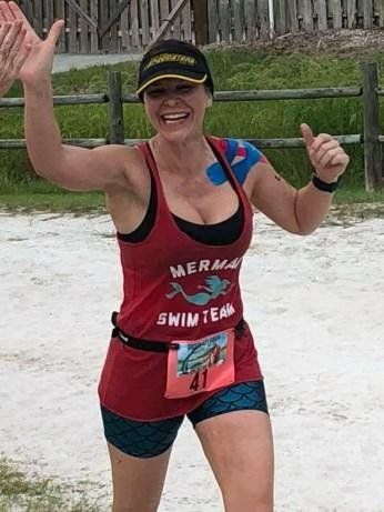 I'm training for the longer distance now and have plans to do a full IRONMAN in Chattanooga 2019 after I recover from my rotator cuff surgery July 11th.