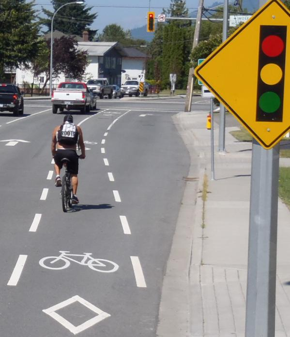 Recreation Routes Recreation routes are intended to provide cyclists with an outlet to exercise,