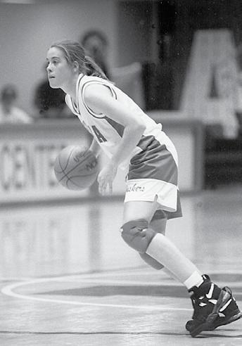 McClain enjoyed her best statistical season as a junior in 1995-96, averaging 13.8 points and 6.8 rebounds per game while connecting on 56.