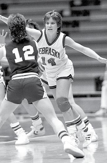 career. The 5-6 guard from Ventura, Calif., enjoyed her best season as a junior in 1983-84, averaging 10.1 points and 4.6 rebounds per game.