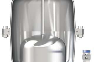 Operating principle Controlled air discharge During the pipe filling it is necessary to avoid rapid closures, responsible of water hammer effects.