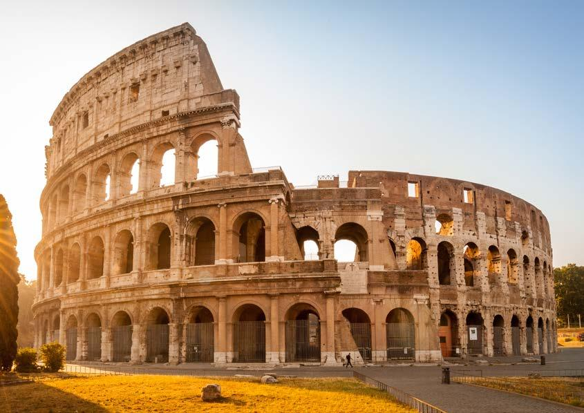 Ciao Roma A heady mix of haunting ruins, awe-inspiring art and vibrant street