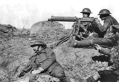 Vickers Machine Gun This new and powerful weapon could mow