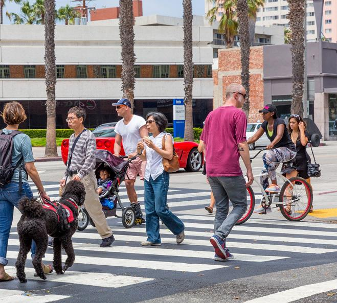 EXECUTIVE SUMMARY CHAPTER 1 EXECUTIVE SUMMARY Setting the Stage Santa Monica is a great place to walk and we want to make it even better and safer for people of all ages and abilities.