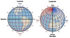 Longitude and Latitude latitudes closer to