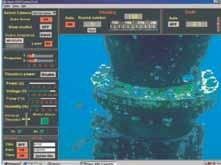 Its video system enables the acquisition and recording of very high definition images in real time. It is particularly suited for inspection and divers' support tasks.