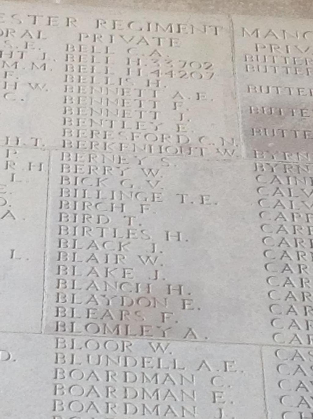 22 P a g e It was eventually established that 41 men of the Battalion were killed that day, including Edward.