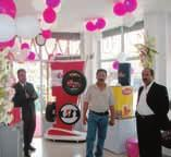 The showroom was formally inaugurated on