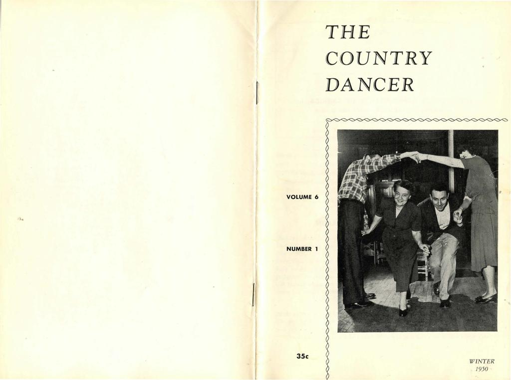 l THE COUNTRY DANCER VOLUME