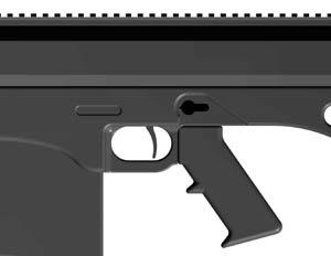 (If you can remove the magazine without having to push the magazine catch button then the magazine is not fully locked into position). Fig 3 Fig 4 Fig 5 3.
