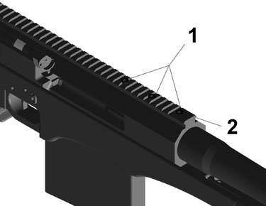 Dissembling your rifle Fig 10 Fig 11 Fig 12 1. Move bolt to reward most rearward position as shown in Fig 10, and remove magazine.