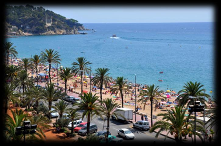 PROPOSED ITINERARY TO THE COPA CATALUNYA GENERAL INFORMATION You will be based Lloret de Mar, situated on Spain
