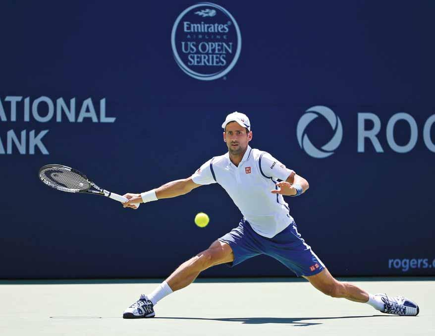 () DPA Toronto Novak Djokovic took the first step toward his current goal of a 30th Masters 1000 title on Wednesday as the top seed advanced in his opening match in Toronto.