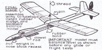 At last in October 1964 came a model aircraft plan, the Marquita, a