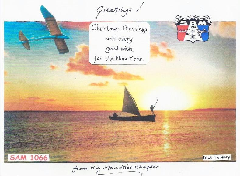 2 Editorial First up we have a greetings card from Dick Twomey and I m sure we all reciprocate his good wishes.