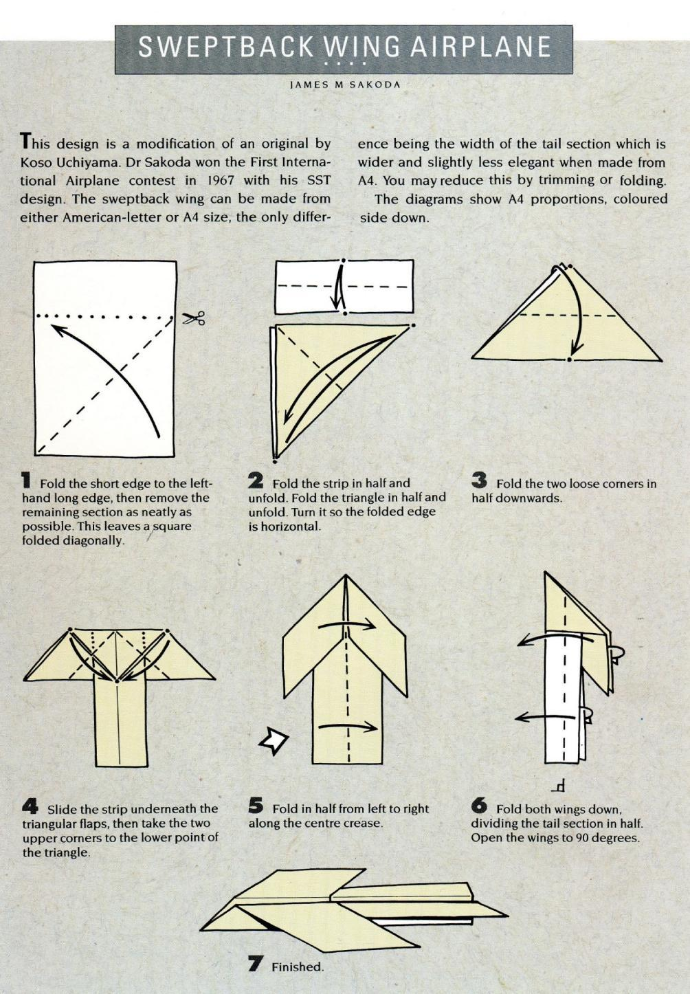 24 Paper Airplane: