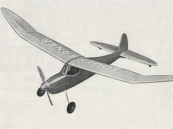 27 Power Cabin models: high on the list is the 60 Keil Kraft Southerner from 1947 by Bill Dean.