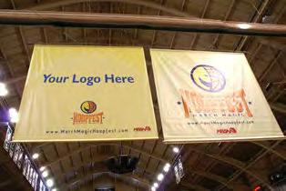, March 24. M. 2-7 (Photo #1: Score Table - Presenting ) (Photo #2: Welcome Banner - Presenting ) P Fri., March 25 P. M. 2-7 Sat., March 26. P. M 1 0 A. M. -6 ADMISSION IS FREE at the 2016 March Magic Hoopfest!