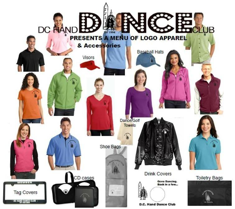 CLUB APPAREL Check out the latest club apparel at: www.dchanddanceclub.com. For information about club apparel, contact Shirley Mostow at: samostow@mac.com or 301-384-1066.