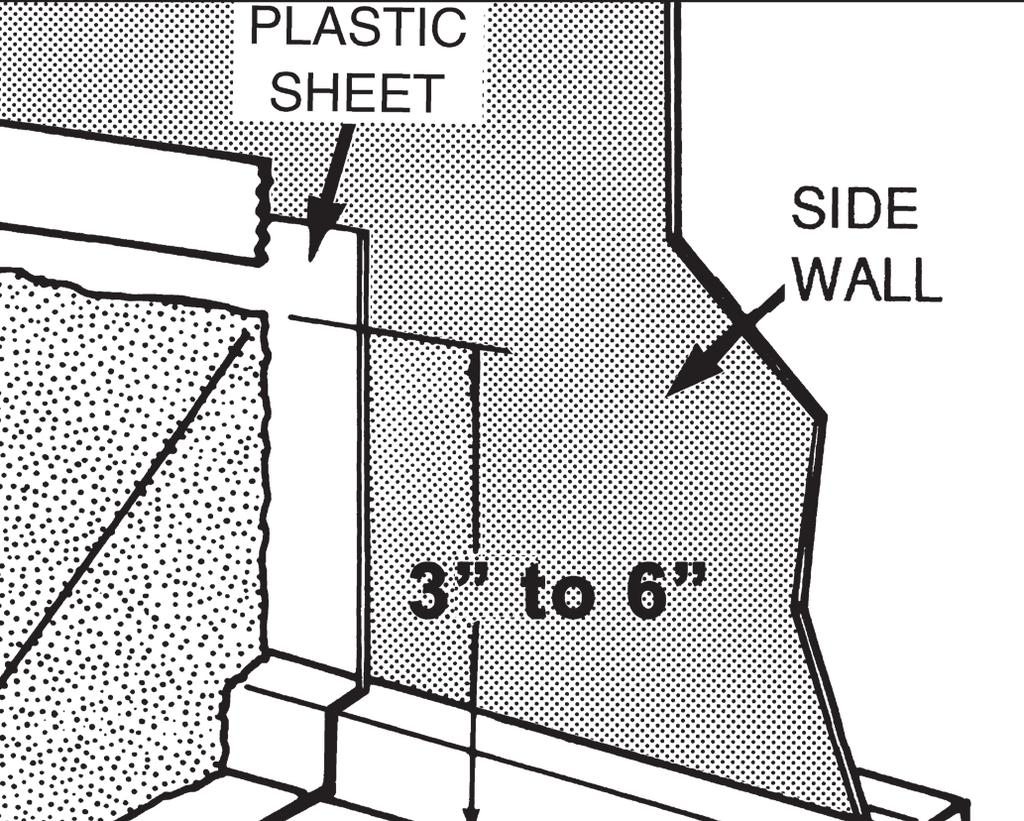 This will prevent the liner from creeping under the wall, and it will also protect the liner from any metal edges of the pool framework. THIS STEP IS NOT OPTIONAL, IT MUST BE DONE.
