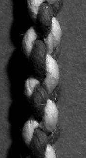 Firs, a few cords are braided ino a single rope (Fig. 3(a)).