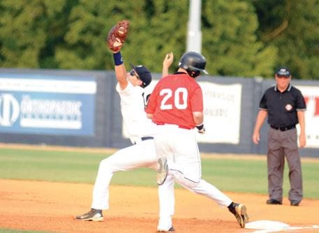 That is Paducah Post 31 s status in the American Legion baseball state tournament after a second consecutive late-inning rally produced Thursday night s comefrom-behind 7-4 victory over Ashland at