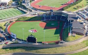 553) May/June: 200-158-3 (.558) Liberty Baseball Stadium - Ranked as One of the Best Stadium Experiences The Flames have posted a 3-1 record at Liberty Baseball Stadium, this season.