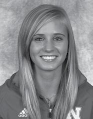 2006 Texas State Beam Champion Junior Kathryn Howard entered the 2009 season as a strong competitor on beam for the Huskers.