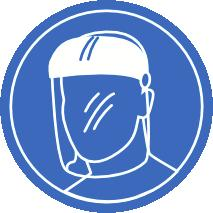 PPE Eye / Face Hands Body Respiratory Wear a faceshield and splash-proof goggles. Wear PVC or rubber gloves. Wear coveralls and rubber boots and a PVC apron.