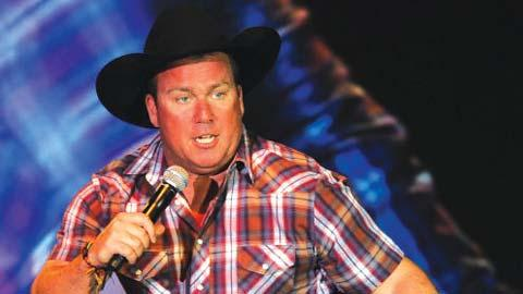 PAGE 10 December 2018 The Entertainer Funny man and country singer Rodney Carrington will perform here on Jan. 17.