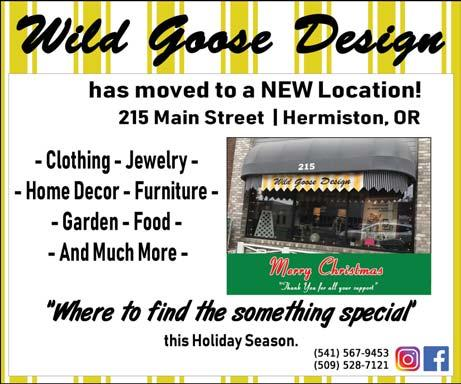 In addition to antiques, collectibles and repurposed furniture, the Wild Goose carries many other special Hermiston s motto, Where Life is Sweet, makes an oblique reference to the area s