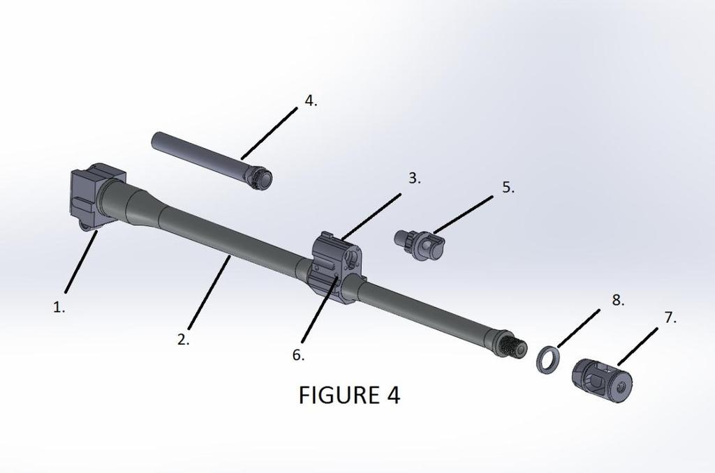 Barrel Assembly Unit (BAU) Figure Item Part No.