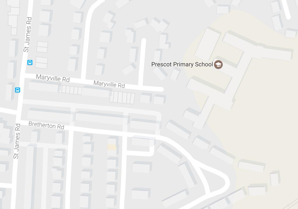 2. School Layout / Access Prescot Primary School is situated in a built up area of Knowlsey.